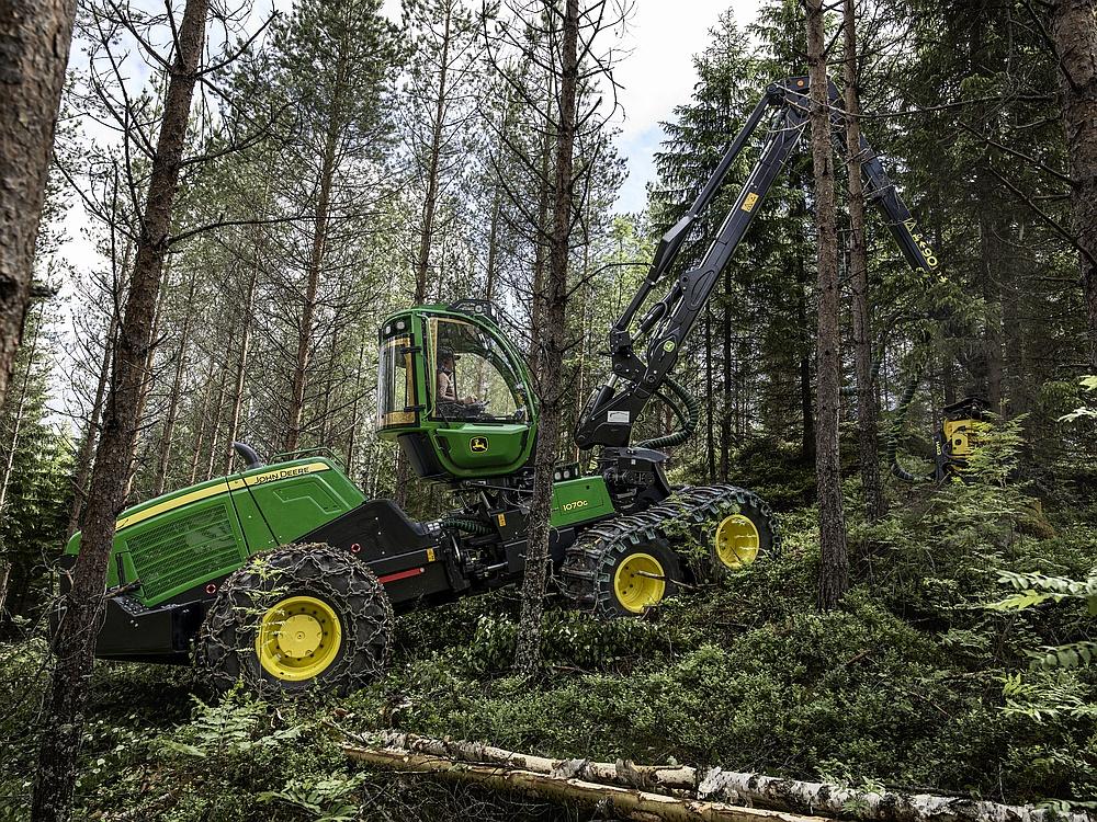 John Deere Harvester 1070g